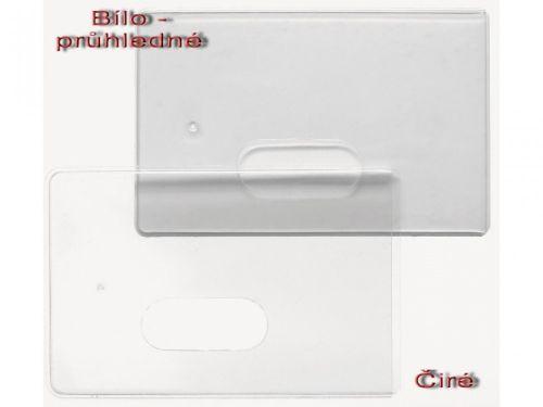 Pouzdro PK 0100 bílo-průhledné