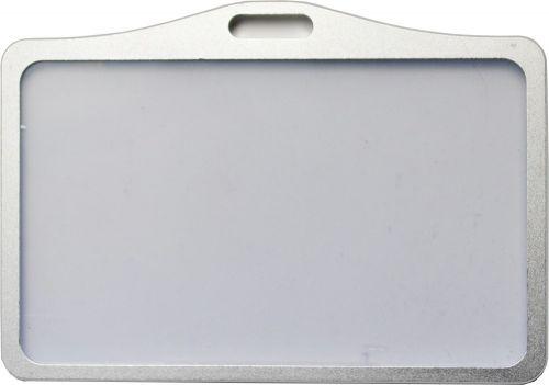 Visačka z eloxuvaného hliníku ID 5001  - stříbrná
