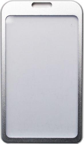 Visačka z eloxovaného hliníku - stříbrná ID 5002