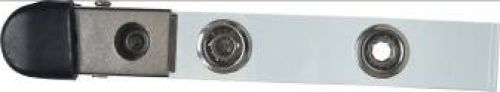 Kovový klip americký  s gumovým  krytem ID 4210